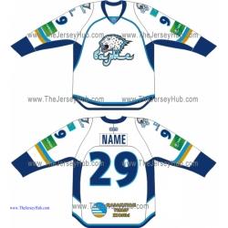 Barys Astana 2013-14 Russian Hockey Jersey Light