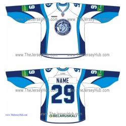 Dinamo Dynamo Minsk 2013-14 Russian Hockey Jersey Light