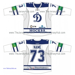Dynamo Dinamo Moscow 2013-14 Russian Hockey Jersey Light