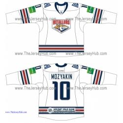 Metallurg Magnitogorsk 2013-14 Russian Hockey Jersey Light