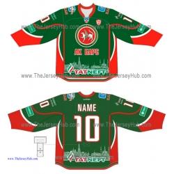 Ak Bars Kazan KHL 2014-15 Russian Hockey Jersey Dark
