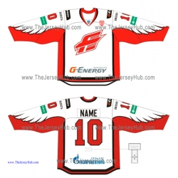 Avangard Omsk KHL 2014-15 Russian Hockey Jersey Light