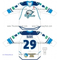 Barys Astana KHL 2014-15 Russian Hockey Jersey Light