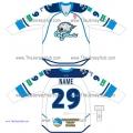 Barys Astana KHL 2014-15 Russian Hockey Jersey Light