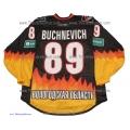 Severstal Cherepovets 2014-15 Russian PRO Hockey Jersey Pavel Buchnevich Dark