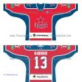 CSKA Moscow KHL 2014-15 Russian Hockey Jersey Dark