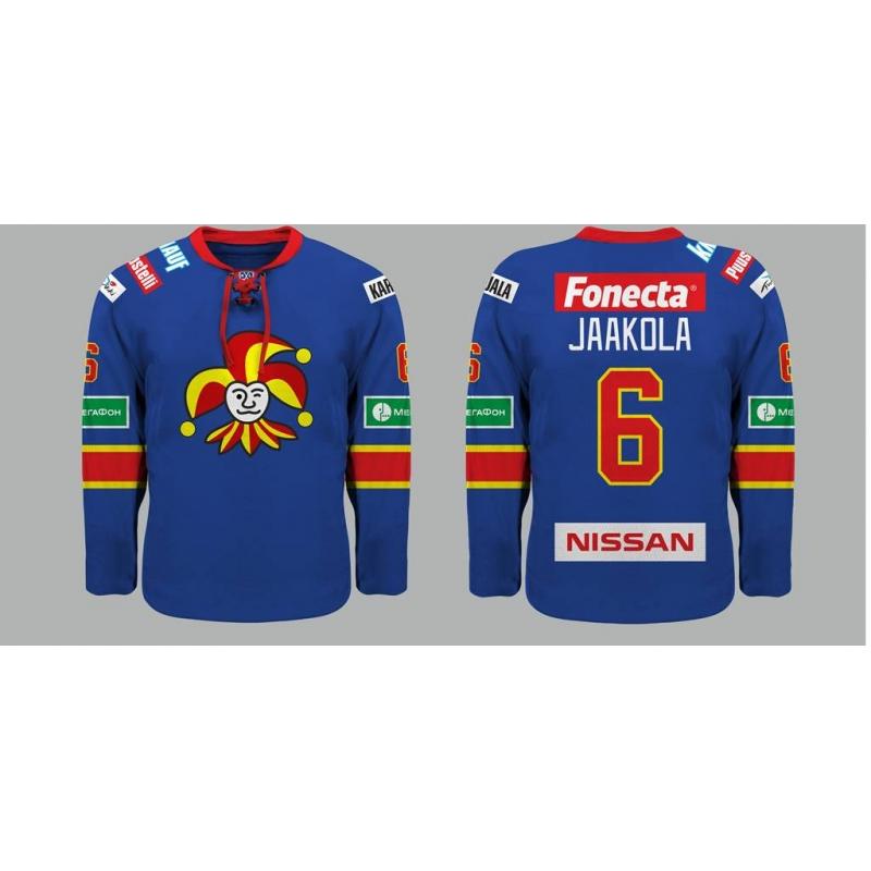 Jokerit Helsinki KHL 2014-15 Hockey Jersey Dark ed23592a4df