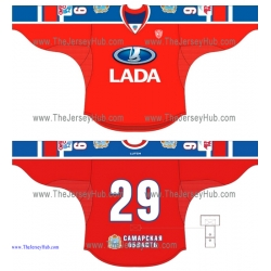 Lada Togliatti KHL 2014-15 Russian Hockey Jersey Dark Alternative