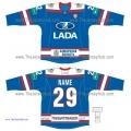 Lada Togliatti KHL 2014-15 Russian Hockey Jersey Dark