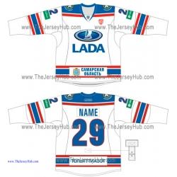 Lada Togliatti KHL 2014-15 Russian Hockey Jersey Light