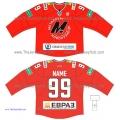 Metallurg Novokuznetsk KHL 2014-15 Russian Hockey Jersey Dark