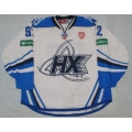 Neftekhimik Nizhnekamsk KHL 2014-15 Official Game Worn Russian Hockey Jersey Light