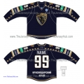 Sochi KHL 2014-15 Russian Hockey Jersey Dark