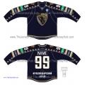 Sochi KHL 2014-15 Russian Hockey Jersey Dark
