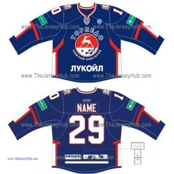 Torpedo Nizhny Novgorod KHL 2014-15 Russian Hockey Jersey Dark