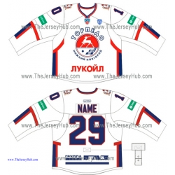 Torpedo Nizhny Novgorod KHL 2014-15 Russian Hockey Jersey Light
