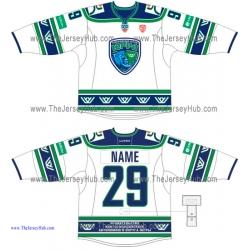 Yugra Khanty-Mansiysk KHL 2014-15 Russian Hockey Jersey Light