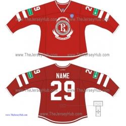 Vityaz Chekhov KHL 2014-15 Russian Hockey Jersey Dark