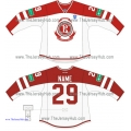 Vityaz Chekhov KHL 2014-15 Russian Hockey Jersey Light