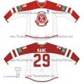 Vityaz Chekhov KHL 2014-15 Russian Hockey Jersey Light