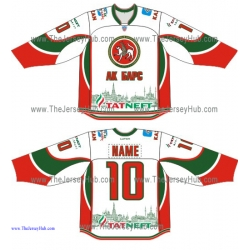 Ak Bars Kazan KHL 2015-16 Russian Hockey Jersey Light