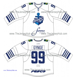 Admiral Vladivostok 2015-16 Russian Hockey Jersey Light