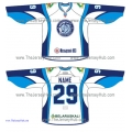 Dinamo Dynamo Minsk KHL 2015-16 Russian Hockey Jersey Light