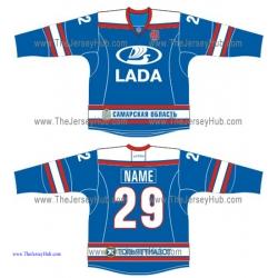 Lada Togliatti KHL 2015-16 Russian Hockey Jersey Dark