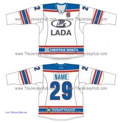 Lada Togliatti KHL 2015-16 Russian Hockey Jersey Light