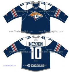 Metallurg Magnitogorsk KHL 2015-16 Russian Hockey Jersey Dark