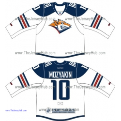 Metallurg Magnitogorsk KHL 2015-16 Russian Hockey Jersey Light