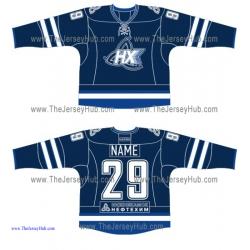 Neftekhimik Nizhnekamsk KHL 2015-16 Russian Hockey Jersey Dark