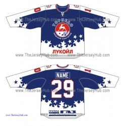 Torpedo Nizhny Novgorod KHL 2015-16 Russian Hockey Jersey Dark