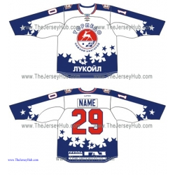 Torpedo Nizhny Novgorod KHL 2015-16 Russian Hockey Jersey Light