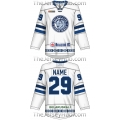 Dinamo Dynamo Minsk KHL 2016-17 Russian Hockey Jersey Light