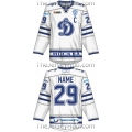 Dynamo Dinamo Moscow KHL 2016-17 Russian Hockey Jersey Light