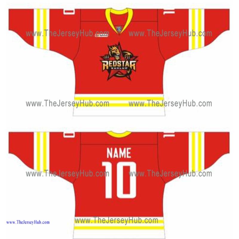 85d3b8dc9 Kunlun Red Star KHL 2016-17 Russian Hockey Jersey Dark