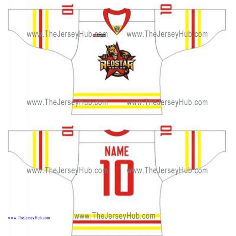 866a143c0 Kunlun Red Star KHL 2016-17 Russian Hockey Jersey Light