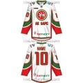 Ak Bars Kazan KHL 2017-18 Russian Hockey Jersey Light