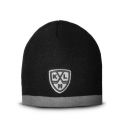 KHL knit Beanie Hat with Black Grey