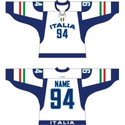 Team Italy Italia Hockey Jersey Light