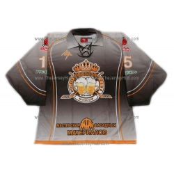 Beer Kings #15 Russian Hockey Jersey Dark