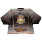 Beer Kings #1 Goalie Russian Hockey Jersey Dark
