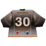 Beer Kings #30 Goalie Russian Hockey Jersey Dark