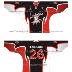 Joker Russian Hockey Jersey Dark