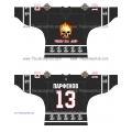 Kill Them All Russian Hockey Jersey Dark