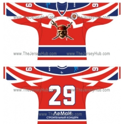 Pirates Russian Hockey Jersey Dark