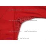 Red Heat Hammer and Sickle #1 Goalie Russian Hockey Jersey Dark