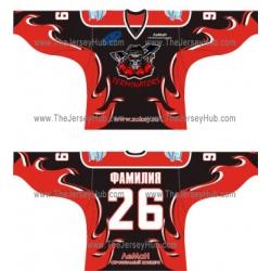 Terminators Russian Hockey Jersey Dark