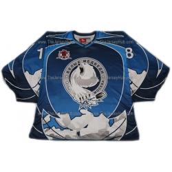 White Bears #18 Russian Hockey Jersey Dark